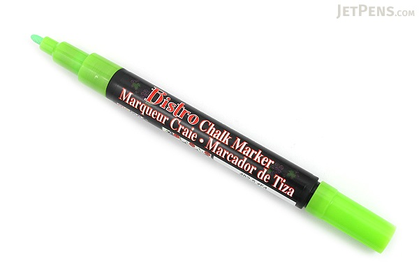 Marvy Uchida Bistro Chalk Marker - Fine Point - Fluorescent Green - MARVY 482-S #F4