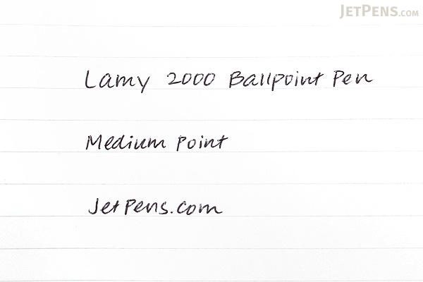 Lamy 2000 Ballpoint Pen - Medium Point - Titanium Body - LAMY L202T