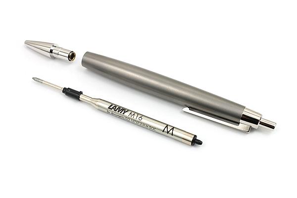 Lamy 2000 Ballpoint Pen - Medium Point - Titanium Body - LAMY L202T