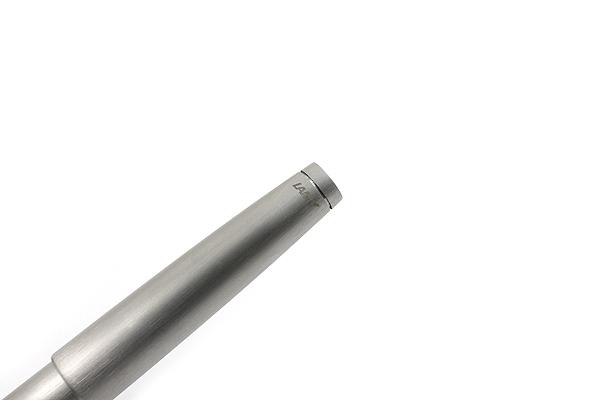 Lamy 2000 Rollerball Pen - Medium Point - Stainless Steel Silver Body - LAMY L302M