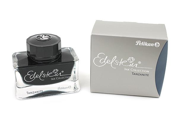 Pelikan Edelstein Fountain Pen Ink Collection - 50 ml Bottle - Tanzanite (Blue Black) - PELIKAN 339226