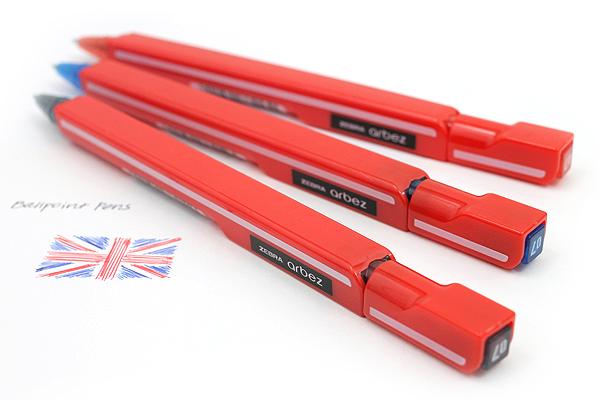 Zebra Arbez Eo Ballpoint Pen - 0.7 mm - Black Ink - ZEBRA BA67-BK
