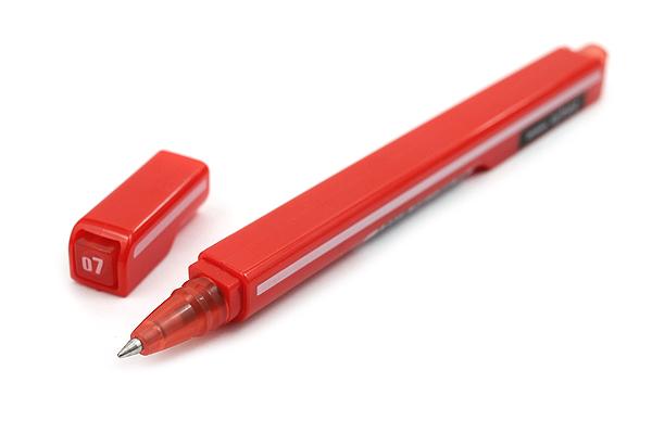 Zebra Arbez Eo Ballpoint Pen - 0.7 mm - Red Ink - ZEBRA BA67-R