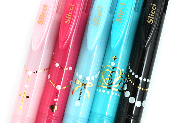 Pentel Sliccies 3 Color Multi Pen Body Component - Limited Edition Pearl Accessory - Baby Pink - PENTEL BG3PA5