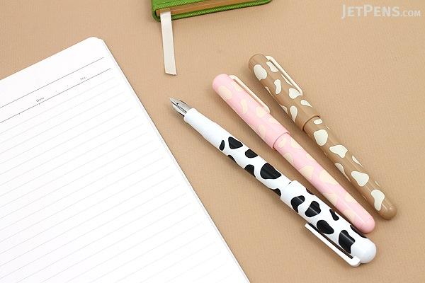 Sailor Clear Candy Milk Fountain Pen - Medium Fine Nib - Strawberry Milk Body - SAILOR 11-0114-331