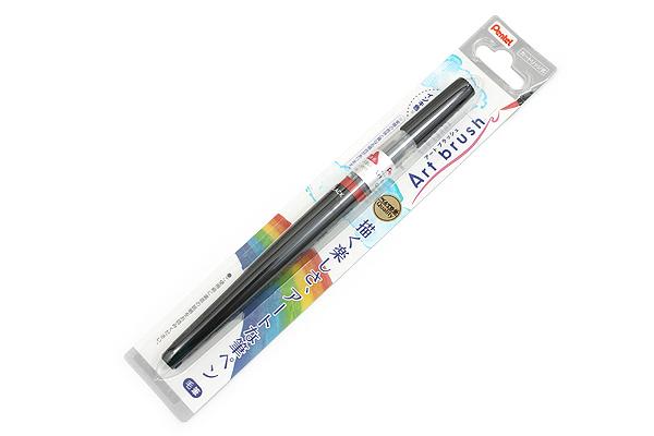 Pentel Art Brush Pen - Black - PENTEL XGFL-101