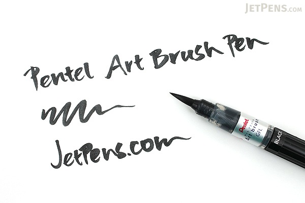 Pentel Art Brush Pen - Steel Blue - PENTEL XGFL-117
