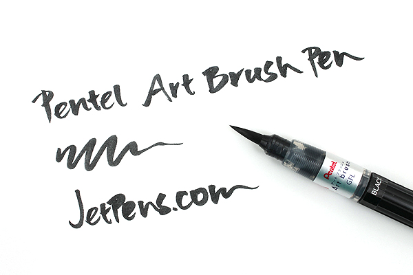 Pentel Art Brush Pen - Purple - PENTEL XGFL-150