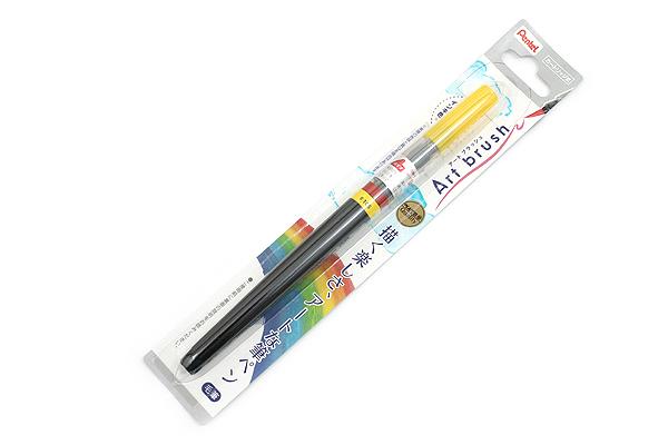 Pentel Art Brush Pen - Lemon Yellow - PENTEL XGFL-105
