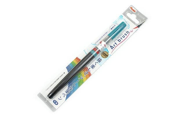 Pentel Art Brush Pen - Turquoise - PENTEL XGFL-114