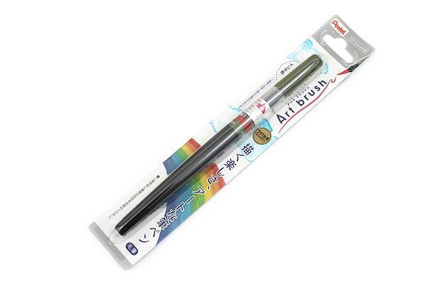 Pentel Art Brush Pen - Olive Green - PENTEL XGFL-115