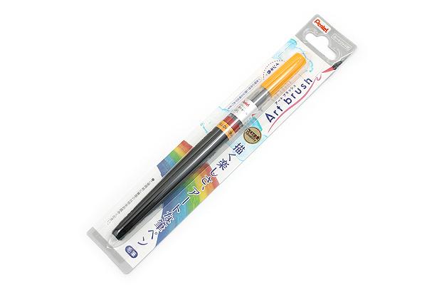 Pentel Art Brush Pen - Yellow Orange - PENTEL XGFL-140