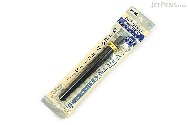 Pentel Art Brush Pen Cartridge - Lemon Yellow - PENTEL XFR-105