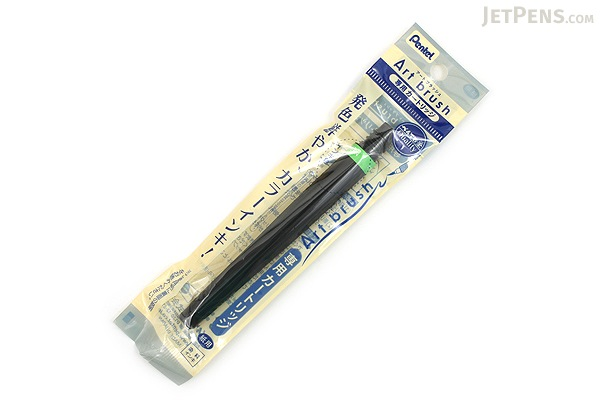 Pentel Art Brush Pen Cartridge - Light Green - PENTEL XFR-111