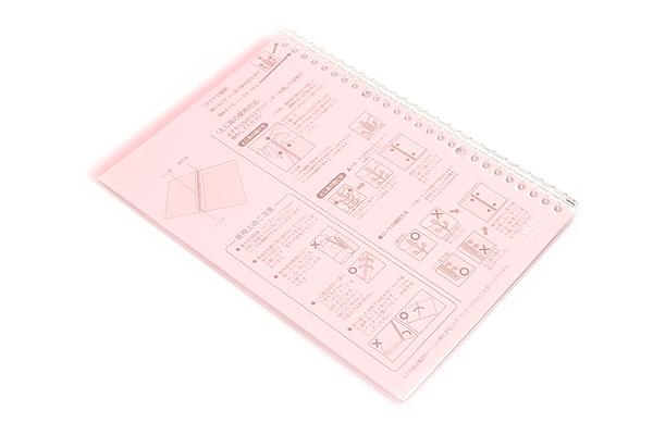 Kokuyo Campus Smart Ring Binder Notebook - B5 - 26 Rings - Light Pink - KOKUYO RU-SP700LP