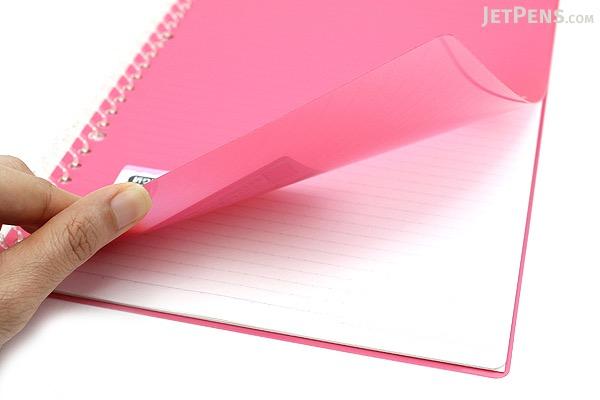 Kokuyo Campus Smart Ring Binder Notebook - B5 - 26 Rings - Dark Pink - Bundle of 3 - KOKUYO RU-SP700P BUNDLE