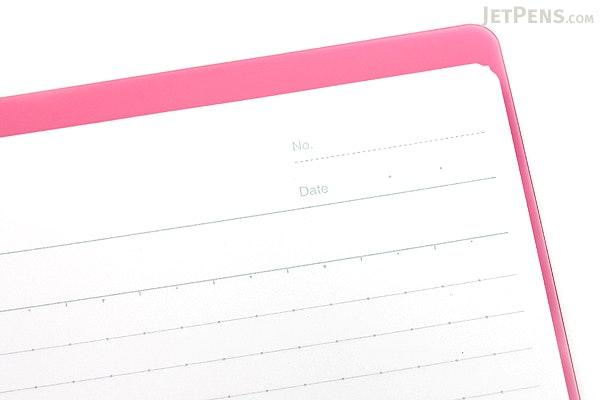 Kokuyo Campus Smart Ring Binder Notebook - A5 - 20 Rings - Dark Pink - Bundle of 3 - KOKUYO RU-SP130P BUNDLE