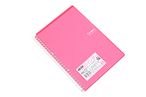 Kokuyo Campus Smart Ring Binder Notebook - B5 - 26 Rings - Dark Pink - KOKUYO RU-SP700P