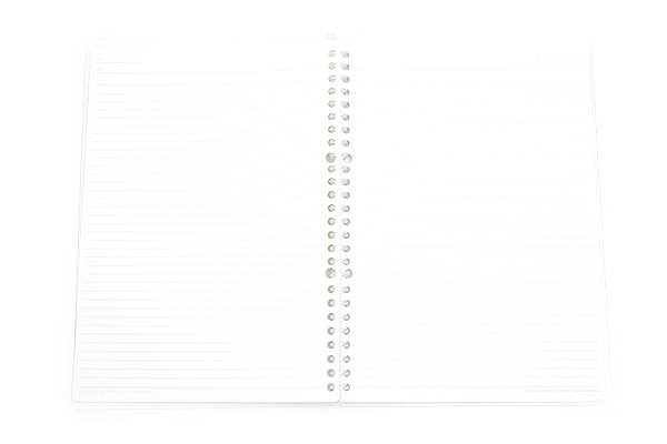 Kokuyo Campus Smart Ring Binder Notebook - B5 - 26 Rings - Clear - KOKUYO RU-SP700T