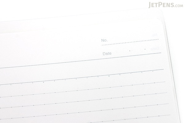 Kokuyo Campus Smart Ring Binder Notebook - A5 - 20 Rings - Clear - Bundle of 3 - KOKUYO RU-SP130T BUNDLE