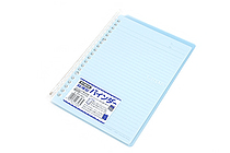 Kokuyo Campus Smart Ring Binder Notebook - A5 - 20 Rings - Light Blue - KOKUYO RU-SP130LB