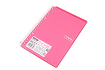 Kokuyo Campus Smart Ring Binder Notebook - A5 - 20 Rings - Dark Pink - KOKUYO RU-SP130P