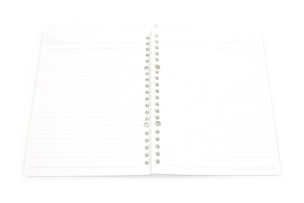 Kokuyo Campus Smart Ring Binder Notebook - A5 - 20 Rings - Clear - Bundle of 3 - KOKUYO RU-SP130T BUNDLE