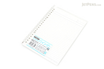 Kokuyo Campus Smart Ring Binder Notebook - A5 - 20 Rings - Clear - KOKUYO RU-SP130T