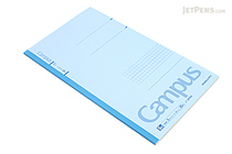 Kokuyo Campus Notebook - Slim B5 - 5 mm Graph - Light Blue - KOKUYO NO-3PSN