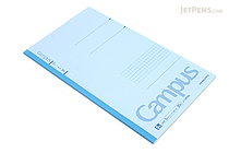 Kokuyo Campus Notebook - Slim B5 - 5 mm Graph - Light Blue - KOKUYO NO-3PSN