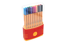 Stabilo Point 88 Fineliner Marker Pen - 0.4 mm - 20 Color Set - ColorParade - STABILO SW8820-03