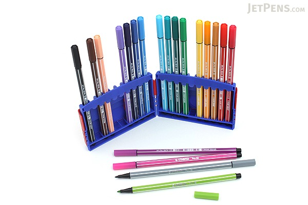 Stabilo Pen 68 Marker - 1.0 mm - 20 Color Set - ColorParade - STABILO 6820-03