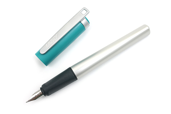 Lamy Nexx M Fountain Pen - Fine Nib - Opal Green - LAMY L94F
