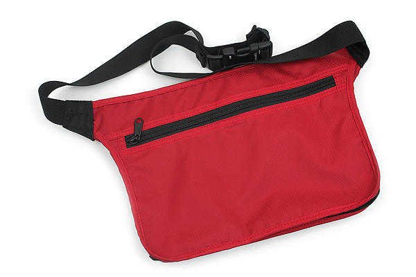 Nomadic WD-37 Wise-Walker Waist Pouch - Red - NOMADIC WD-37 RED