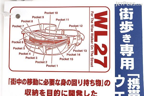 Nomadic WL-27 Wise-Walker Waist Bag - Black - NOMADIC WL-27 BLACK