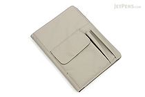 Lihit Lab Smart Fit Cover Notebook - B5 - Beige - LIHIT LAB N-1627-16
