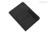 Lihit Lab Smart Fit Cover Notebook - B5 - Black - LIHIT LAB N-1627-24