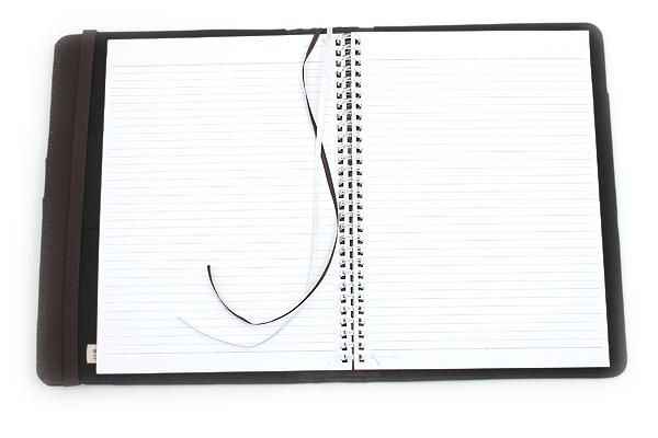 Lihit Lab Smart Fit Cover Notebook - B5 - Black - LIHIT LAB N-1627-24