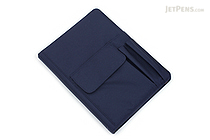 Lihit Lab Smart Fit Cover Notebook - B5 - Navy - LIHIT LAB N-1627-11
