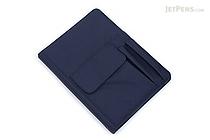 Lihit Lab Smart Fit Cover Notebook - B5 - Navy - LIHIT LAB N-1627-11