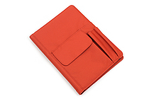 Lihit Lab Smart Fit Cover Notebook - B5 - Orange - LIHIT LAB N-1627-4
