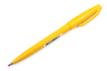 Pentel Sign Pen - Fine Point - Yellow - PENTEL S520-G