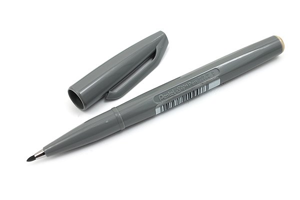 Pentel Sign Pen - Fine Point - Gray - PENTEL S520-N