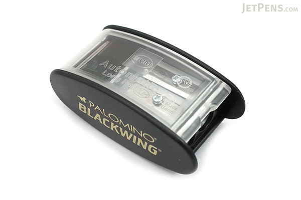 Palomino KUM Blackwing Automatic Brake Long Point 2 Step Pencil Sharpener - Black - PALOMINO 103315