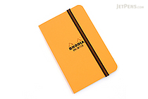 "Rhodia Unlimited Notebook - 3.5"" x 5.5"" - Lined - Orange - RHODIA 118059O"