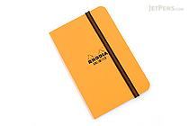 "Rhodia Unlimited Notebook - 3.5"" x 5.5"" - Lined - Orange - RHODIA 118059O"