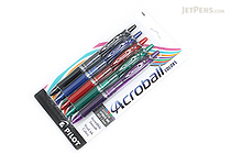 Pilot Acroball Ballpoint Pen - 1.0 mm - 5 Color Set - PILOT ACCC5002M