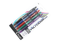 Pilot Acroball Ballpoint Pen - 1.0 mm - 5 Color Set - PILOT 31820