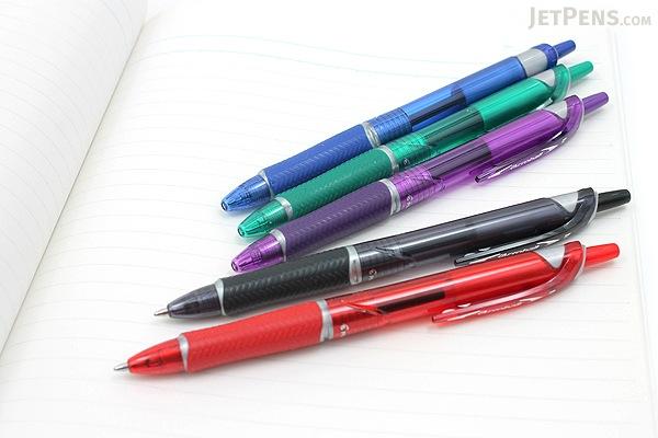 Pilot Acroball Ballpoint Pen - 1.0 mm - 5 Color Set - PILOT ACCC5002M