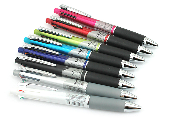 Uni Jetstream 4&1 4 Color 0.7 mm Ballpoint Multi Pen + 0.5 mm Pencil - White Body - UNI MSXE510007.1